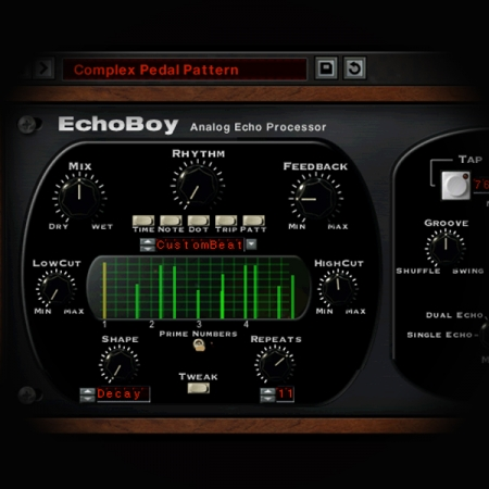 Using Stereo Delays on Vocals screen shows soundtoys echoboy delay plugin