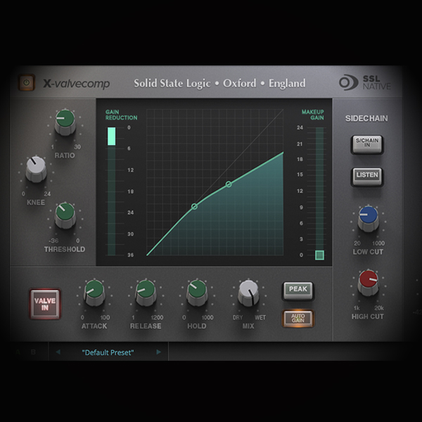 EDM Kick Drum Processing using Valves/Tubes screen shows the ssl bus compressor plugin
