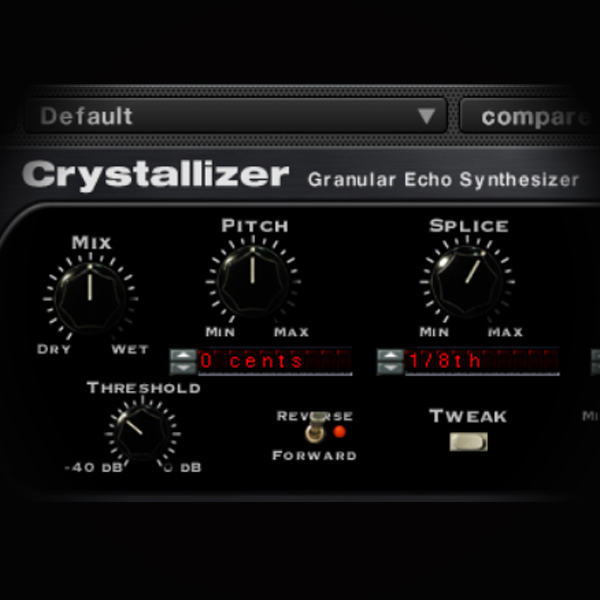 Soundtoys Crystallizer- using Granular Synthesis on Vocals screen shows soundtoys crystallizer plugin