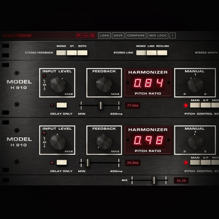 Harmonizer Effect - what it is and how to use it screen shows the eventide harmonizer plugin