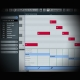 Using Midi Expression and Continuous Controllers screen shows cubase's grid editor page