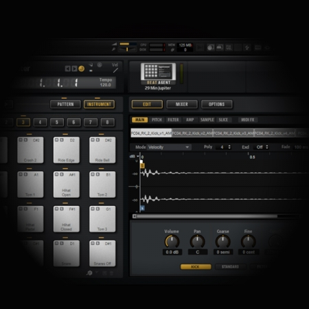 Programming Drum Beats in Cubase screen shows groove agent plugin