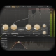 Side-chaining Bass and Kick for EDM screen shows the side chain feature of the fabfilter pro c2 plugin