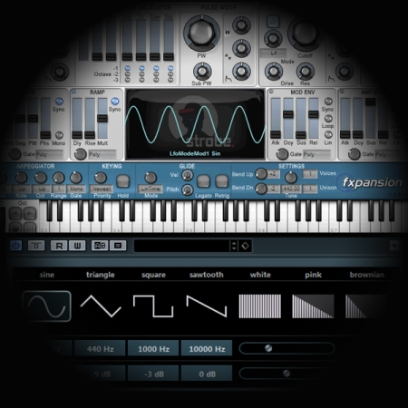 Layering Snares using a Synthesizer and a Noise Gate screen shows strobe and test tone generator plugins