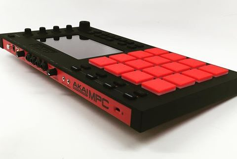 The Nod - How to tell if your track is Banging! screen shows a custom red akai mpc 2500 hardware sampler