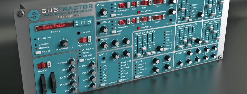 Reason Tips and Tricks - Subtractor Sound Design screen shows propellerheads reason vsti gui