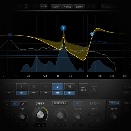 MixBus - Urban Pre Mastering screen shows the tdr nova ge eq plugin