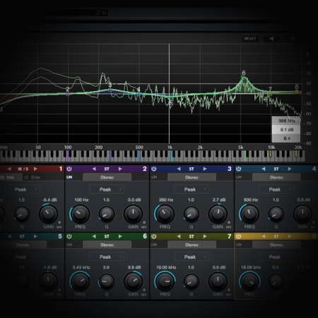 Processing Rap Vocals - Prep and Optimisation is a video tutorial that outlines the processes required to clean and optimise rap vocals. screen shows cubase's eq plugin