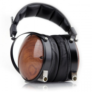 Mixing with Headphones screen shows the audeze lcd 2 headphones
