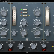Multiband Compression screen shows the lindell 354 multiband compressor plugin