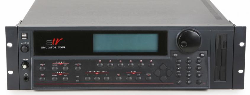 Sampling Tools and Procedures screen shows the emu ultra e4 hardware sampler
