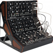 Synthesis and Sound Design - Various Types screen shows the macbeth semi modular synthesizer