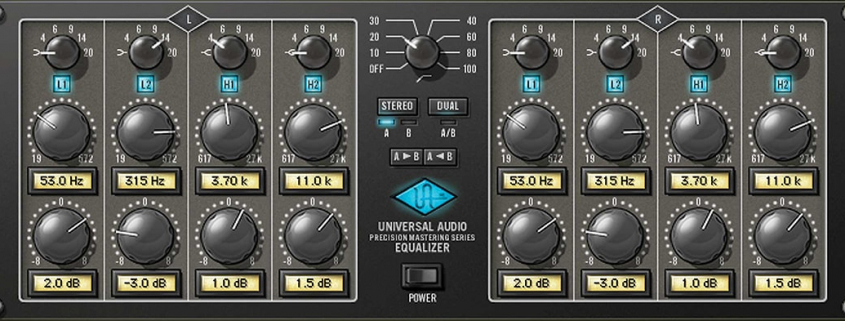 Filters - What are they and how do they work? screen shows carousel's precision equaliser plugin