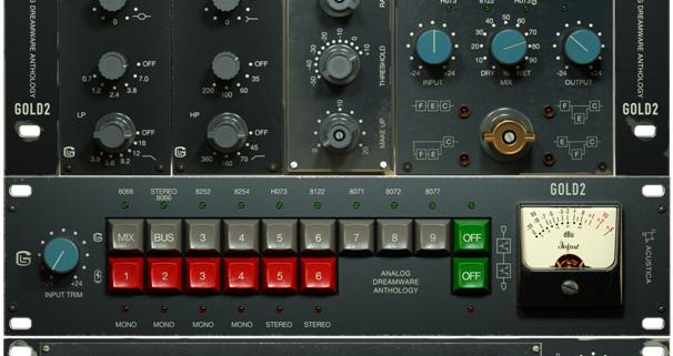 acustica gold 2 screen showing acustica gold plugin