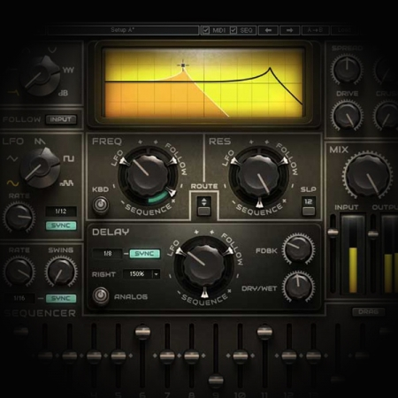 Using Modulators to add Dynamic Motion to Vocals screen showing waves metafilter plugin