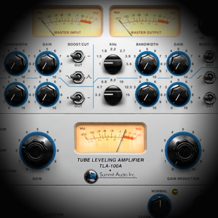 Processing Backing Vocals screen shows the tla 100 leveling amp plugin