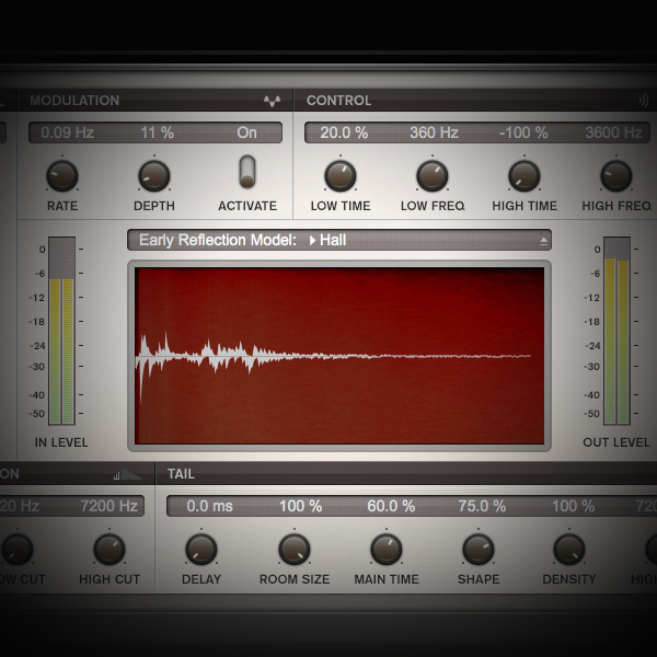 Layering Reverbs for a Big and Lush Effect screen showing cubase's reverb plugin