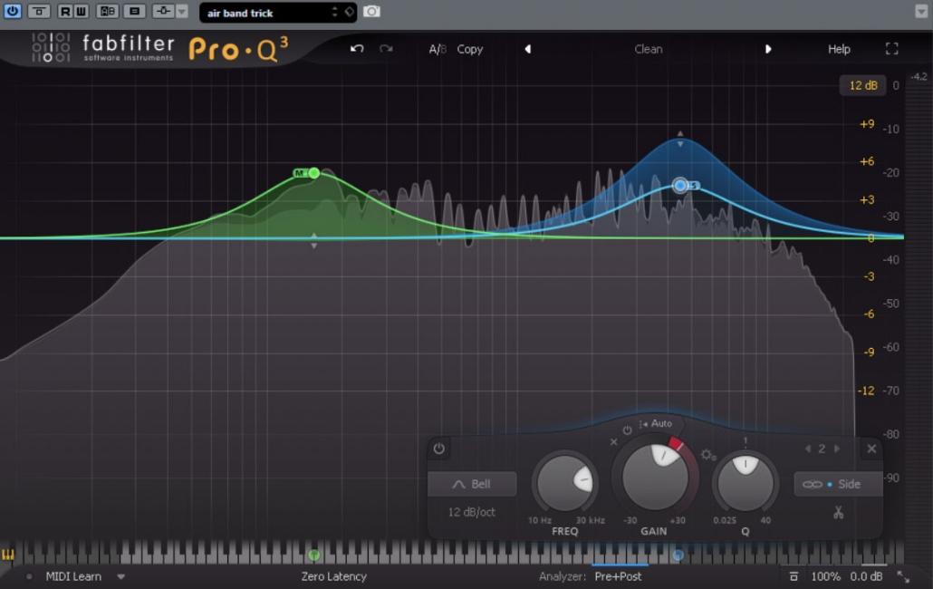 up and down m/s using fabfilter pro q3